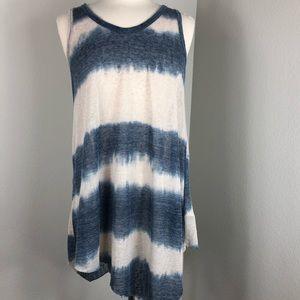 Anthropologie beach pool cover up lounge dress S